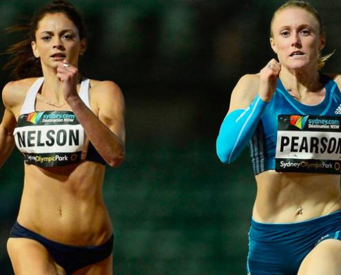 Ella Nelson-200m PB 23.04