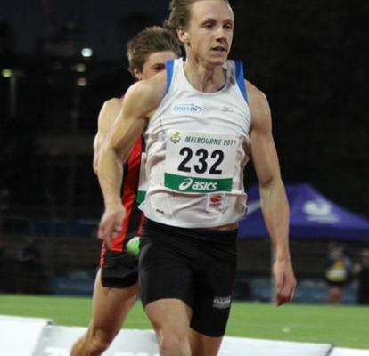 Jake Hammond- 100m PB 10.56